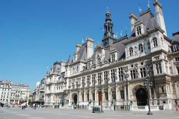 Hotel de Ville Paris[4202]