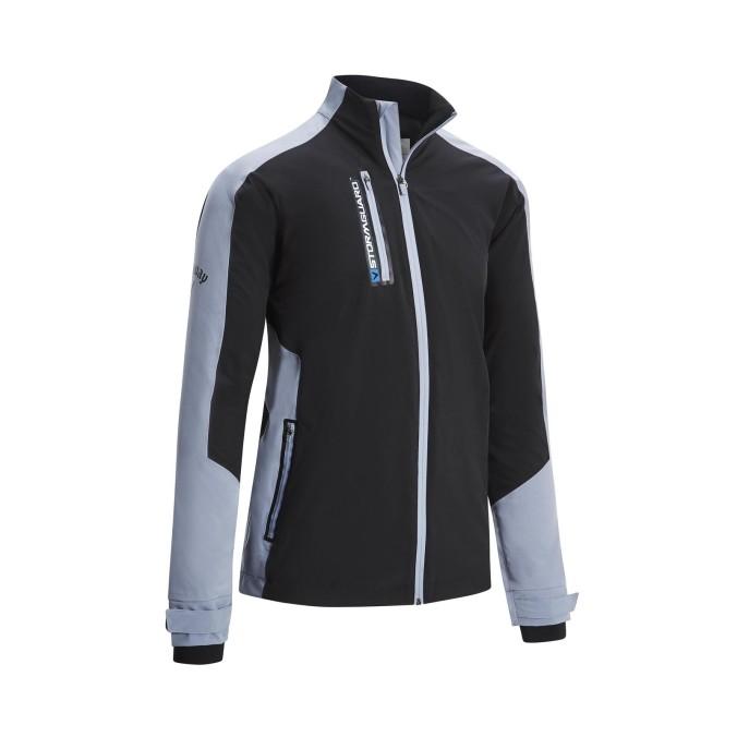 581348991Stormguard Waterproof Jacket_Caviar_Front